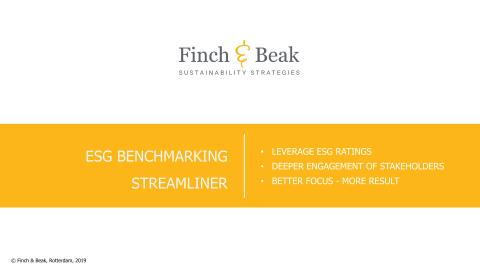 Finch & Beak's ESG Benchmarking Streamliner
