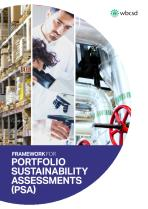 Portfolio Sustainability Assessments (PSA) - WBCSD