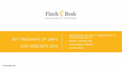 Key Takeaways of SAM's DJSI 2019 Webcasts.pdf