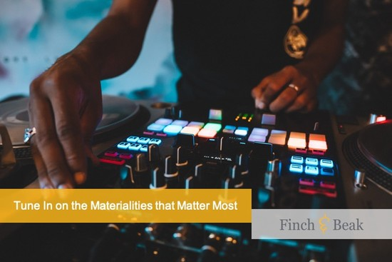 Tuning in on Materialities That Matter