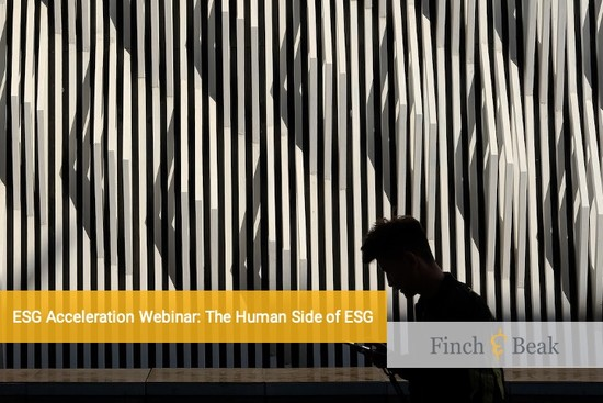 ESG Acceleration Webinar: The Human Side of ESG