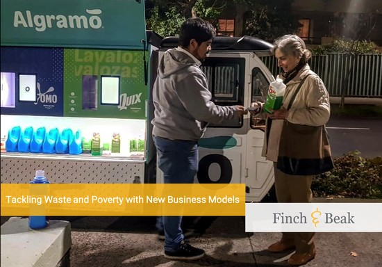 Algramo Develops Refill Business with Unilever