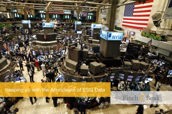 Keeping up with the Rise of ESG Investing
