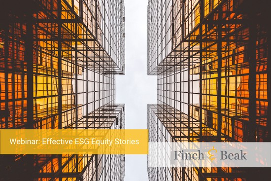 ESG Acceleration Webinar: #BuildingBackBetter in the Decade to Deliver