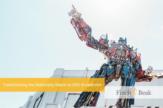 Activating Materiality to Accelerate ESG Performance