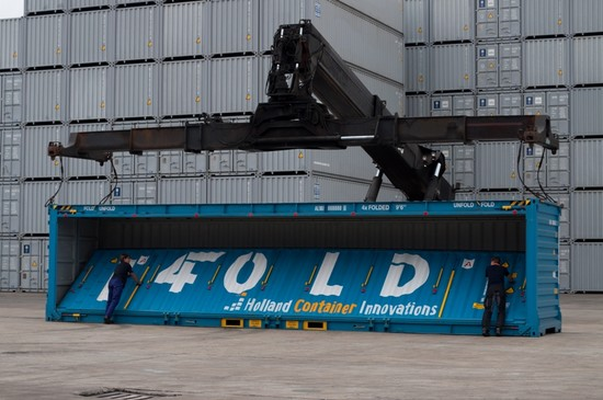 Foldable Containers: a Revolutionary Logistics Innovation