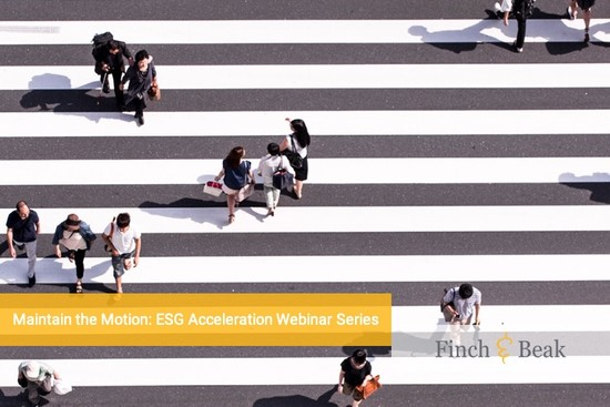 Register Now for the New ESG Acceleration Webinar Series