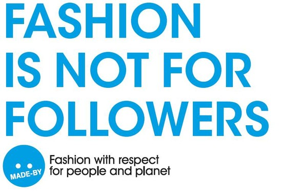 Fashion is not for followers