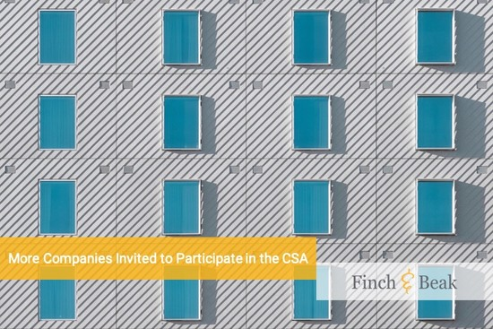 Update: S&P Global's Extended its Invitation List for the CSA