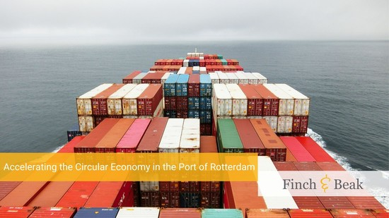 Accelerating the Circular Economy in the Port of Rotterdam