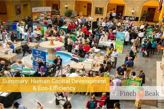 Webcast on Human Capital Development & Eco-Efficiency