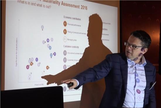 Lean Materiality Matrix Re-Fresh Using Big Data