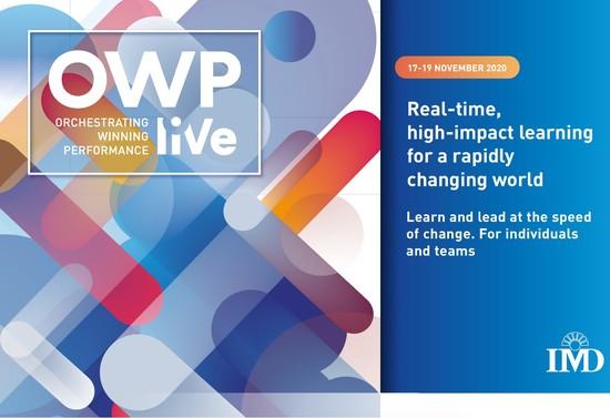 IMD - OWP liVe November 2020