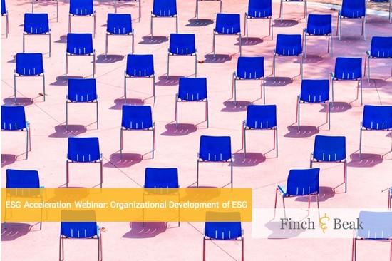 ESG Acceleration Webinar: Organizational Development of ESG