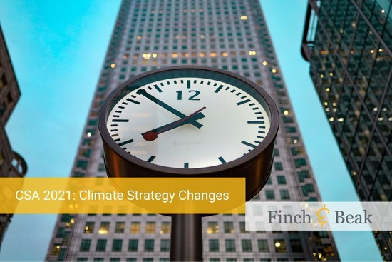 Countering the Clock: Climate Strategy Checklist