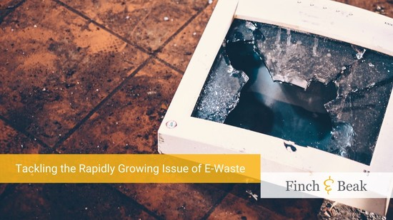 Tackling the Rapidly Growing Issue of E-Waste