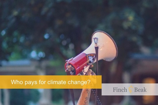 Paying for Climate Change