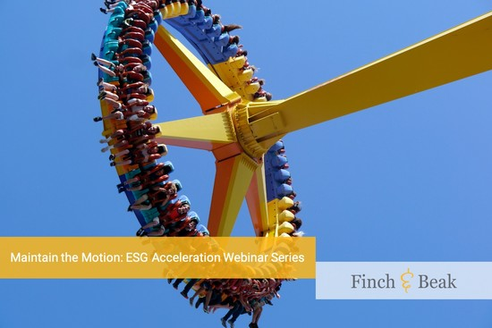 Maintain the Motion: ESG Acceleration Webinar Series