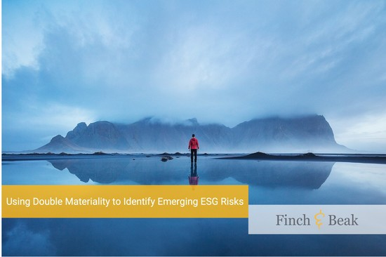 Leveraging Double Materiality to Identify Emerging ESG Risks