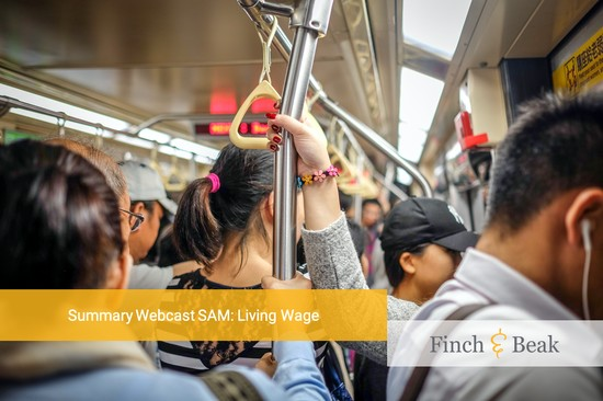 Summary of SAM's Webcast on Living Wage